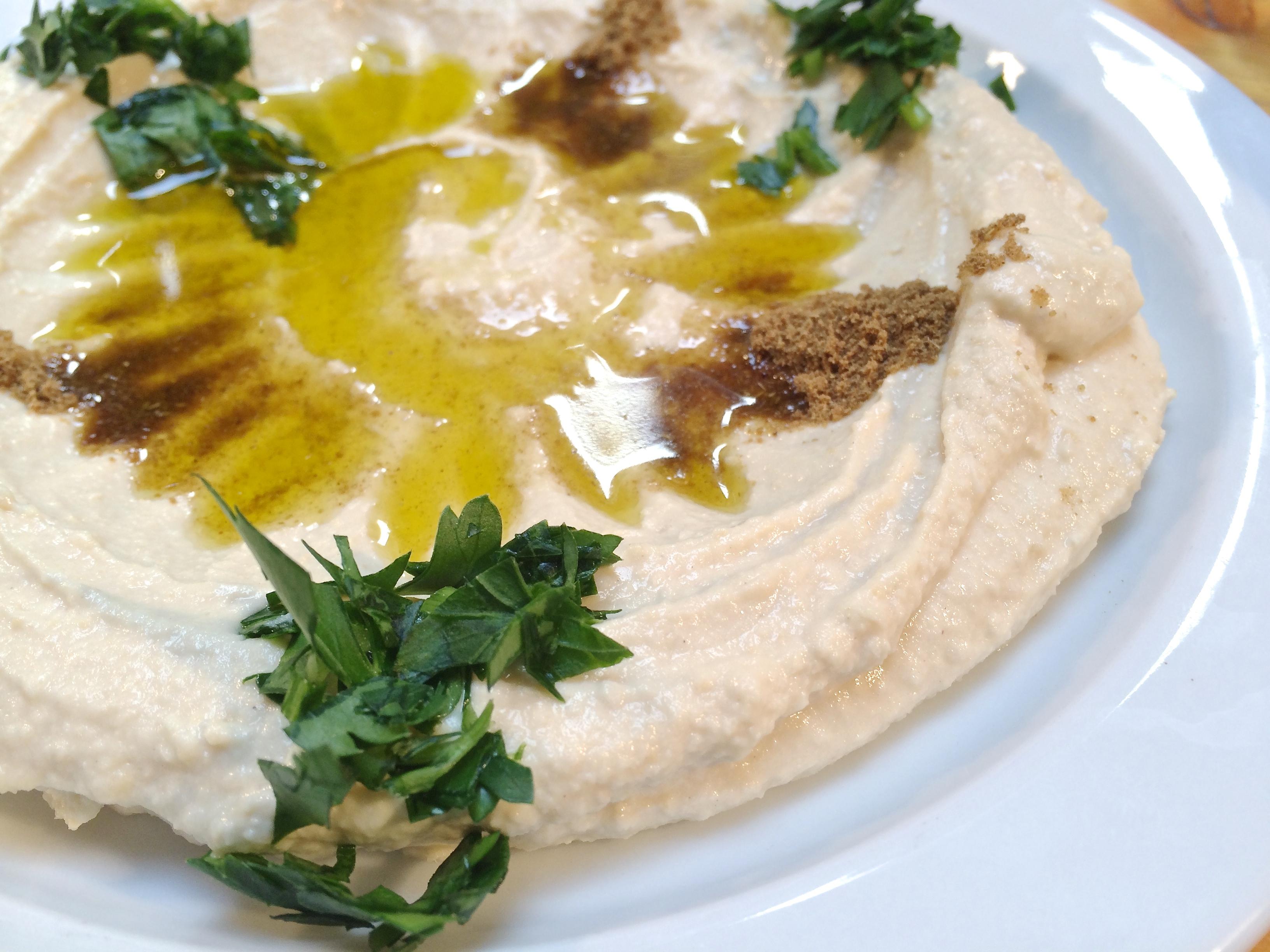 Verse hummus bij Marres Kitchen in Maastricht