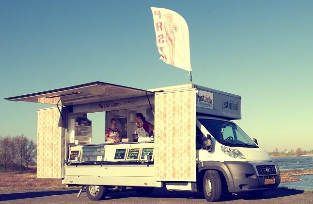 Foodtruck pastaiola - meestal in Nijmegen