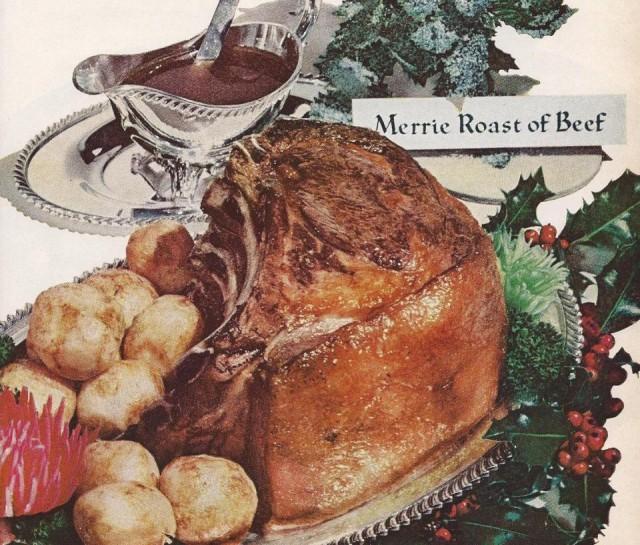 Merrie roast of beef