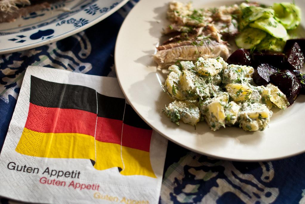 Kartoffelsalat - Wat aten zij @ Ein Topf Heimat