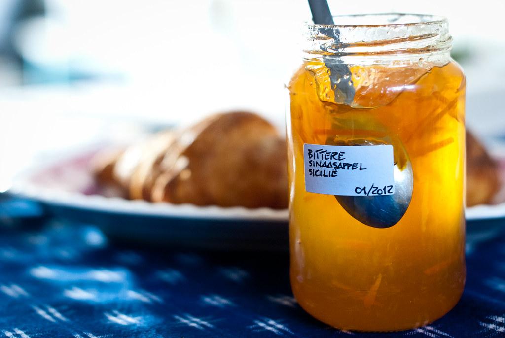 marmelade van bittere sinaasappel